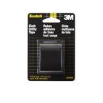 3M™ Cloth Tape 3448, Black, 1.5 in x 4 yard Roll