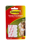 Command™ Poster Strips 17024 Small White