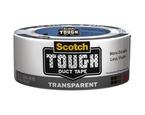 Scotch® Tough Transparent Duct Tape 2120-A, 1.88 in x 20 yd (48 mm x 18, 2 m)