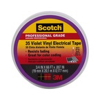 Scotch® #35 Violet Vinyl Electrical Tape 11271-BA-5, 3/4 in x 66 ft x 0.007 in (19 mm x 20, 1 m x 0.177 mm)