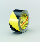 3M™ Safety Stripe Tape 5702 Black/Yellow, 1 in x 36 yd 5.4 mil 3M stock# 7000123722