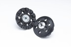 3M™ Roloc™ D/F Cool Running Disc Pad 02286, 4 in 3/8-24 Internal