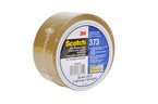 Scotch® High Performance Box Sealing Tape 373 Tan, 48 mm x 50 m Conveniently Packaged 3M stock# 7010374970
