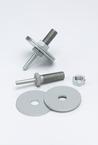 3M™ Unitized Wheel Mandrel 934, 3-1/16 in x 1/4 in x 2-1/2 in