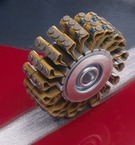 3M™ Heavy Duty Roto Peen Flap Assembly, 2 in x 2 1/8 in C