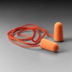3M™ Corded Foam Earplugs, Hearing Conservation 1110