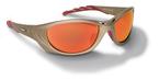 3M™ Fuel™ 2 Protective Eyewear, 11650-00000-10 Red Mirror Lens, Metallic Sand Frame