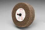 Scotch-Brite™ Roloc™+ Cut and Polish Disc D5, 4 in x 1-1/4 in A MED 3M stock# 7000120703