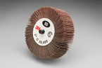 3M™ Flap Wheel Type 84 244D, 3 in x 1 in x 1/4-20 External 60 X-weight