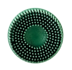 Scotch-Brite™ Roloc™ Bristle Disc, 3 in x 5/8 Tapered 50