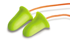 3M™ E-A-Rsoft™ FX™ Corded Earplugs, Hearing Conservation 312-1260 in Poly Bag
