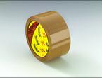 Scotch® Box Sealing Tape 372 Tan, 48 mm x 50 m
