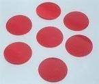 3M™ Diamond Grade™ Reflectors 989-72-3 Red Debossed 3 in Diameter