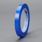 3M™ Vinyl Tape 471 Blue, 1/2 in x 36 yd Boxed