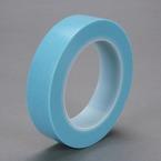 Scotch® High Temperature Fine Line Tape 4737T Translucent Blue, 1/2 in x 36 yd