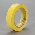 3M™ Polyethylene Tape 483 Yellow, 1 in x 36 yd 5.3 mil