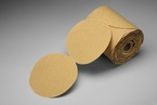 3M™ Stikit™ Gold Paper Disc Roll 216U, 5 in x NH P400 A-Weight