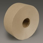3M™ Water Activated Paper Tape 6142 Natural Medium Duty, 3 in x 600 ft