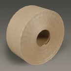3M™ Water Activated Paper Tape 6144 Natural Economy Reinforced, 70 mm x 450 ft