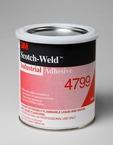 3M™ Scotch-Weld™ Industrial Adhesive 4799 Black, 1 Quart