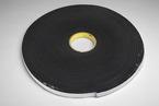3M™ Vinyl Foam Tape 4504 Black, 1/2 in x 18 yd