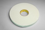 3M™ Urethane Foam Tape 4116 Natural, 1/4 in x 36 yd 62.0 mil