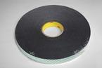 3M™ Double Coated Urethane Foam Tape 4052 Black, 1 in x 72 yd 1/32 in