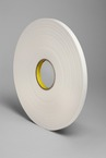3M™ Urethane Foam Tape 4108 Natural, 1/2 in x 36 yd 30.0 mil