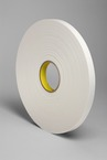 3M™ Urethane Foam Tape 4108 Natural, 3/4 in x 36 yd 30.0 mil