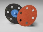 3M™ Roloc™ D/F Disc 777F TR, 3 in Die# R300HC 6 Holes 120 YF weight