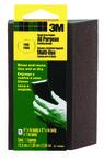 3M™ Sanding Sponge CP040-12-CC Single Angle, 4.875 in x 2.875 in x 1 in, Fine Grit
