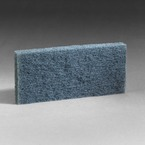 3M™ Doodlebug™ Blue Scrub Pad 8242, 4.6 in x 10 in