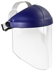 3M™ Ratchet Headgear H8A, Head and Face Protection 82783-00000, with 3M™ Clear Polycarbonate Faceshield WP96