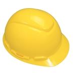 3M™ Hard Hat, Yellow 4-Point Pinlock Suspension H-702P