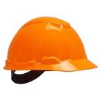 3M™ Hard Hat, Bright Orange 4-Point Pinlock Suspension H-707P