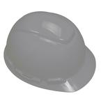 3M™ Hard Hat, Gray 4-Point Ratchet Suspension H-708R