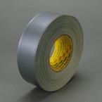 Scotch® Polyethylene Coated Cloth Tape 390 Silver, 2 in x 60 yd