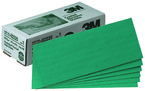 3M™ Green Corps™ Production™ Resin Sheet, 02225, 3 2/3 in x 9 in, 80D