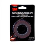3M™ Super Strength Molding Tape 3615, 7/8 in x 5 ft