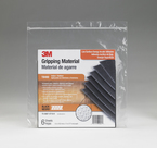 3M™ Gripping Material TB400 Black, 6 in x 7 in Sheet