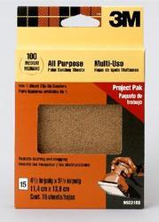 3M™ Clip-On Palm Sanding Sheets 99221ES Medium Grit