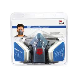 3M™ TEKK Protection™ Professional Paint Respirator 7512PA1-A Size Medium