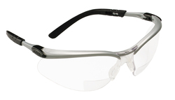 3M™ BX™ Reader Protective Eyewear, 11374-00000-20 Clear Lens, Silver Frame, +1.5 Diopter 3M stock# 7000127490