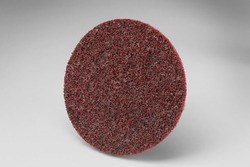 Scotch-Brite™ Roloc™ Surface Conditioning Disc TR, 3 in x NH A MED