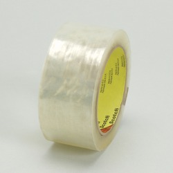 Scotch® Cold Temperature Box Sealing Tape 3723 Clear, 48 mm x 50 m 3M stock# 7000048660