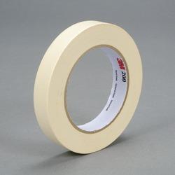 3M™ Paper Tape 200 Tan, 18 mm x 55 m 4.4 mil