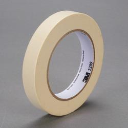 3M™ Paper Masking Tape 2209 Tan, 18 mm x 55 m