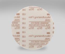 3M™ Hookit™ Microfinishing Film Type D Disc 268L, 6 in x NH 60 Micron