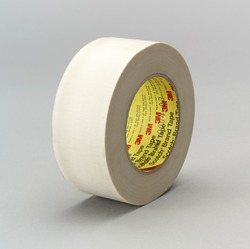 3M™ Glass Cloth Tape 361 White, 3 in x 60 yd 7.5 mil