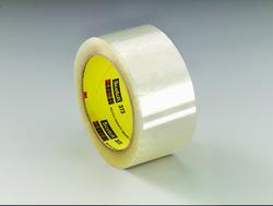 Scotch® Box Sealing Tape 373 Clear, 72 mm x 50 m 3M stock# 7000001200